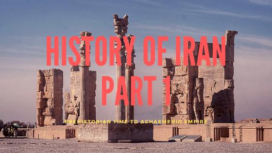 History of Iran Part 1